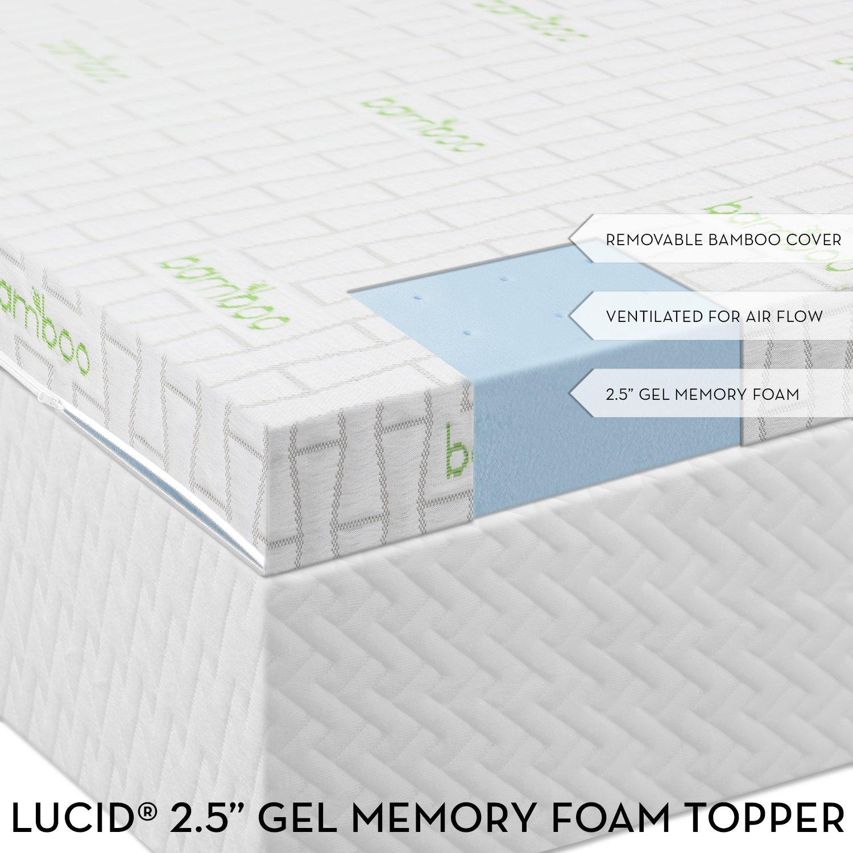 Lucid By Linenspa Gel Memory Foam Mattress Review