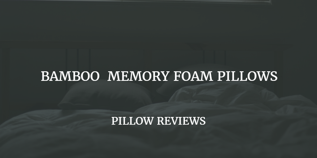 Best Bamboo Pillow Reviews And Ratings 2017
